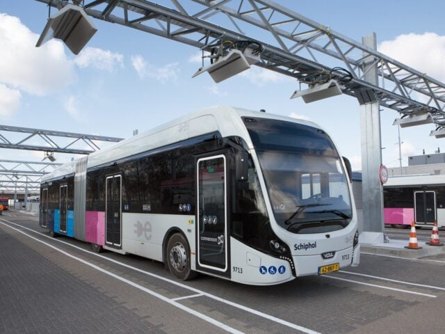 Imagen destacada de Autobuses eléctricos en Schiphol
