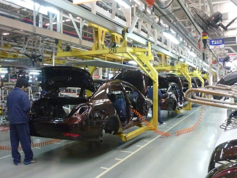 <p>Automobielindustrie</p>