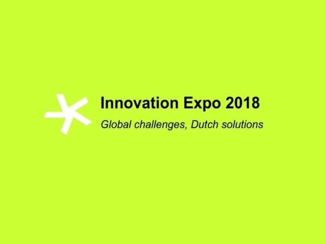 """Imagen destacada de Reserva la fecha - Innovation Expo 2018 """"Global challenges, Dutch solutions"""""""